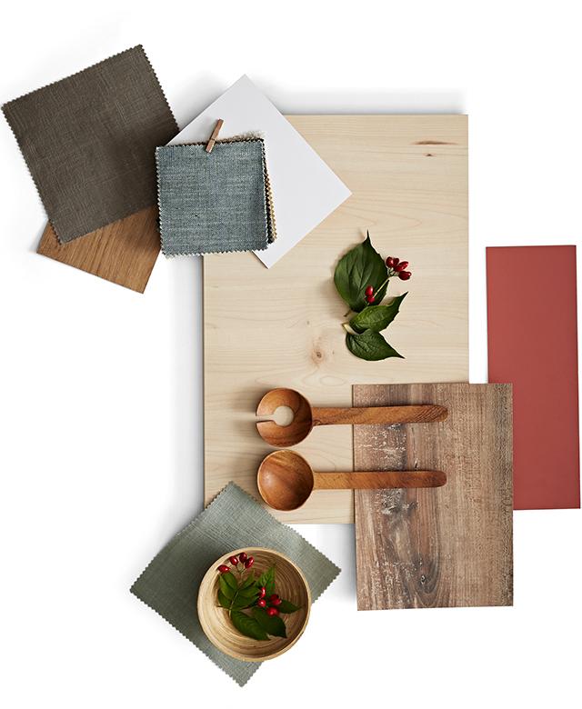 Collage-Küche